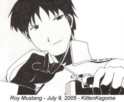 Roy Mustang by KittenKagome