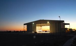 Prowler Hangar sunrise by ShannonCPhotography