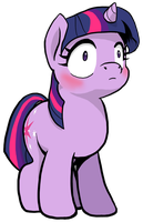 Twilight Sparkle - What just happened? by muffinshire