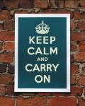 Keep Calm and Carry On by Didadisa