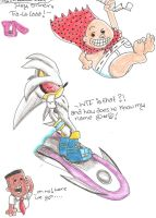 sliver and..captain underpants by sheezy93