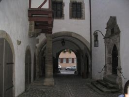 Rothenburg ob der Tauber 8 by nathies-stock