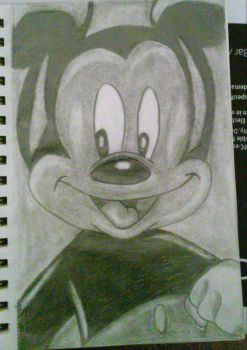 Mickey Mouse by Rouge-X