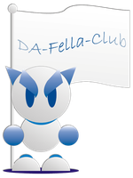 Da-Fella-Club Fella by Harry-Paraskeva