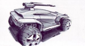 Combat Buggy 2 by kryoth