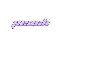 Peach Text Effects In Gimp: Outline by AngelAmethyst