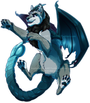 High Jump Manticore (YCH Comm) by NinjaKato