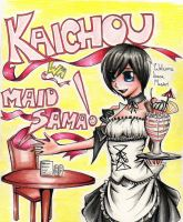 Maid Xion. Crossover contest entry by alexis360100