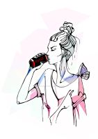 cola by MargoIllustration