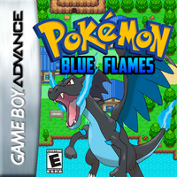 Cover Pokemon Blue Flames by levirotem