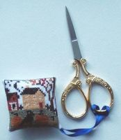 Fall scissor fob by AngelSan1