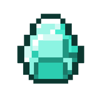 Minecraft Diamond by iTaffyta