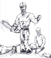 Chainsaw Dismemberment by Criticlown