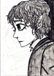 Bilbo Baggins by queenfire