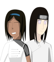 Request: Mei and Neji by Lightening-Ninja
