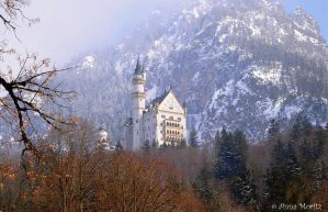 Neuschwanstein castle - Germany by annamnt