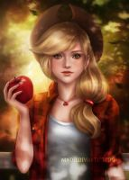 Applejack by Nindei