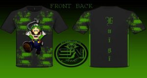 luigi t-shirt design by StreetWearinc