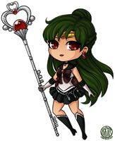 Sailor Pluto by LostAdopt