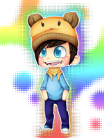 Beanie boy by WTFmoments