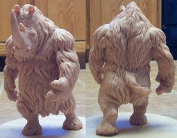 Lummox the Woolly Rhino 2 by kyoht