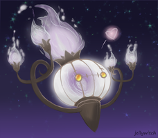 chandelure by JellyCrafts