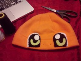 Chaaaarmander Hat by CosmiCosmos