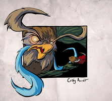 Great Owl - Secret of Nimh by CraigArndt