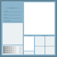 Character Sheet Template by Reporter-Derpy