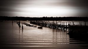 jetty ripples by awjay