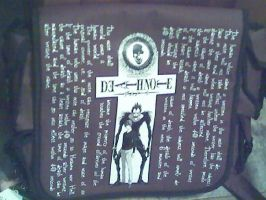 Death Note Back Pack by xXHikariKnightXx