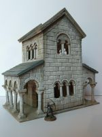 Minas Tirith House 2 by Drumstick7