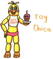 Toy Chica by YouCanDrawIt