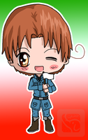 Chibi Italy by IcyPanther1
