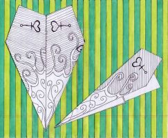 paper planes no.1 by kironix