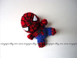 Spiderman Amigurumi by AnyaZoe