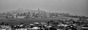 Istanbul Under Snow Storm by TanBekdemir
