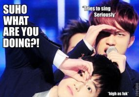 Suho_What are you Doing_MACRO by dancingdots