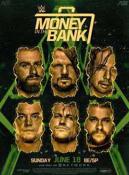 Money in the Bank poster by LukkasBlack