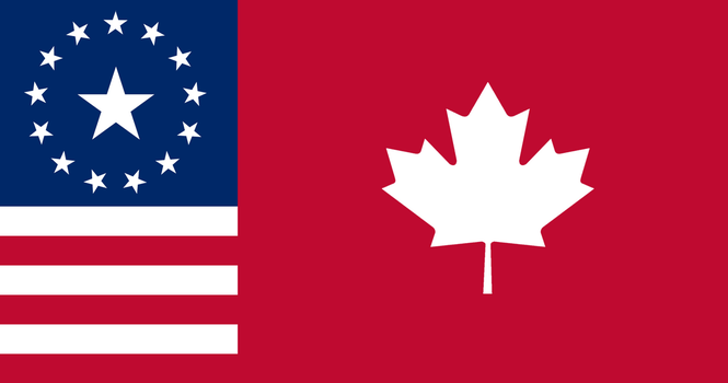 Flag of U.S. Annexed Canada by augustin-blot-LBPS