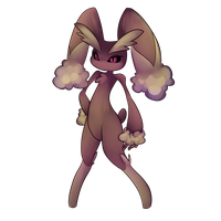 Lopunny by Extra-Dan