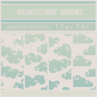 {SAI resources} AS loves Clouds Brushes by ASlovesLisa