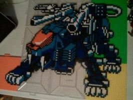 Shield Liger Perler by Throbz