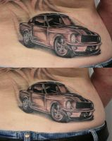 ready car Mustang  TaT by 2Face-Tattoo