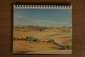 Landscape Drawing 2 by Rollingboxes
