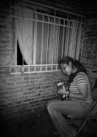 playing my guitar by chicamiseria