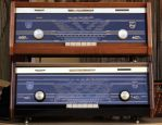 Philips 60ties stereo tube amplified radio's by pagan-live-style