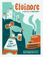 Elsinore Castle Brewery by Montygog