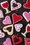Valentines day cookies by kupenska
