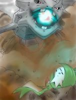 Steelix vs Gardevoir Hyperbeam by Jbaaron